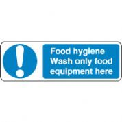 Mandatory Safety Sign - Food Hygiene Food 064